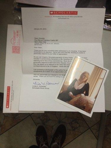 Carta enviada por Linda